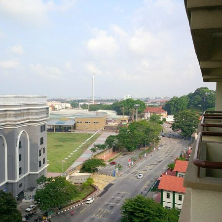 Hotel Equatorial Melaka : view from room 3