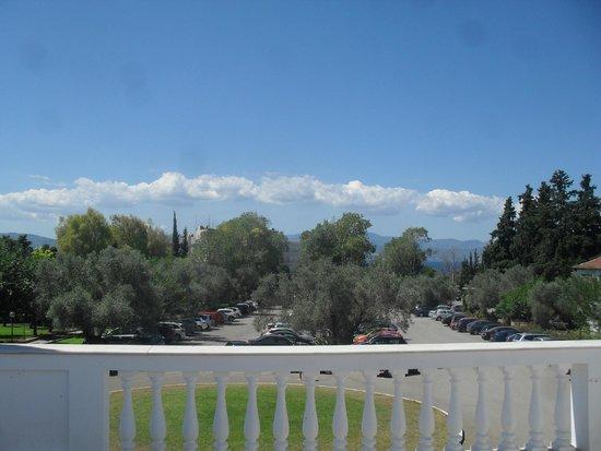 Holidays In Evia & Eretria Village Hotels: vue de la piscine