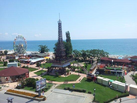 INTERNATIONAL Hotel Casino & Tower Suites : Sea view