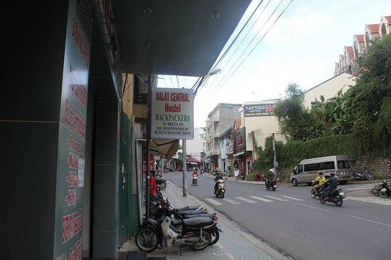 Dalat Central Hostel : Hostel entrance