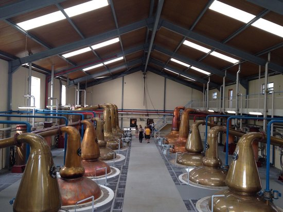 Glenfiddich Distillery: Very hot in here