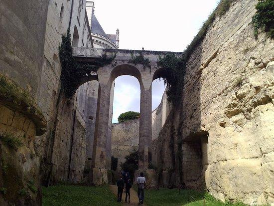 Chateau de Breze: douves