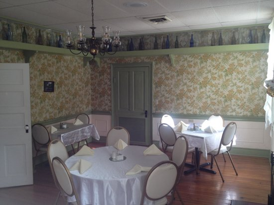 The Buckhorn Inn: One of the dining rooms