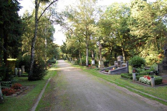 Melaten-Friedhof: cmentarne aleje