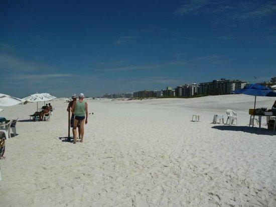 Forte Beach: blanca como talco