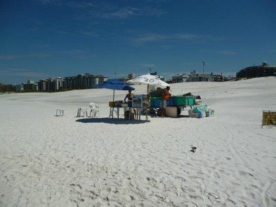 Forte Beach: puestito de venta
