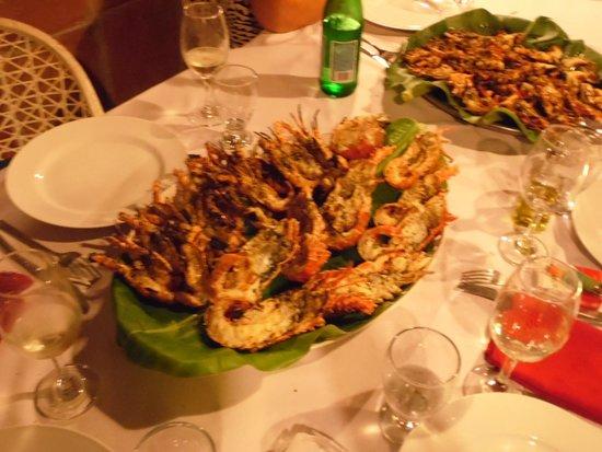 Da Elio Restaurante: scorpacciata di aragoste