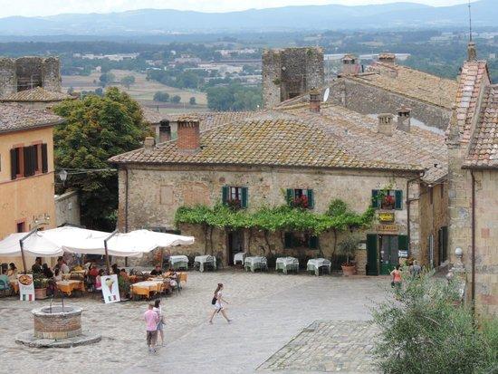 Ristorante Il Pozzo: All Pozzo from the town walls