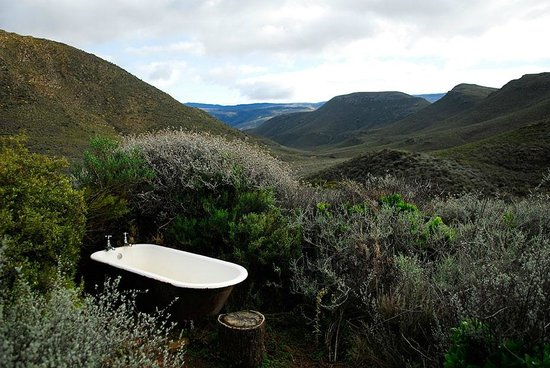 Simonskloof: The outdoor bath