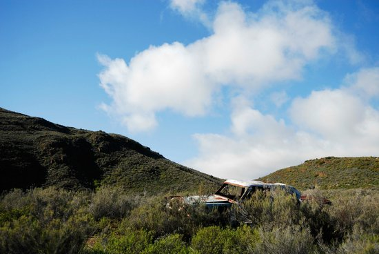 Simonskloof: An old rusty car - great for pictures