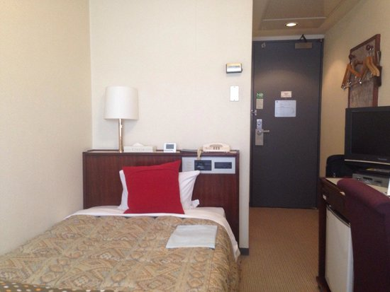 Hotel Sunroute Fukushima : 普通のビジネスホテルの設備が揃ってます。