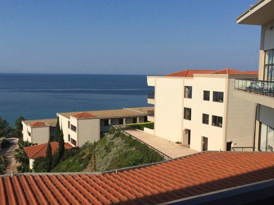 Ikos Oceania : View from reception and outside balcony