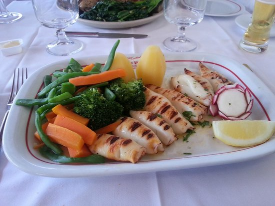 Restaurante Casa Velha : Calamars Grillés