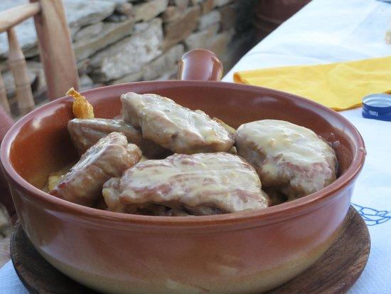 Vilaeti Taverna: Pork with honey