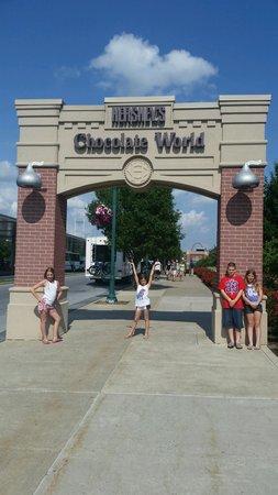 Hershey's Chocolate World: getting started