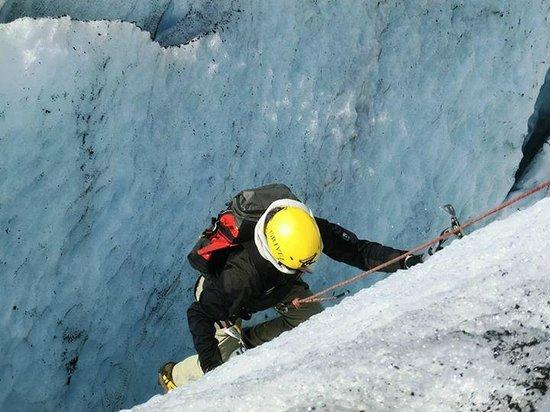 FlatEarth Norway: Ice climbing