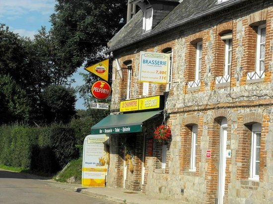 Le Champetre : Façade du restaurant
