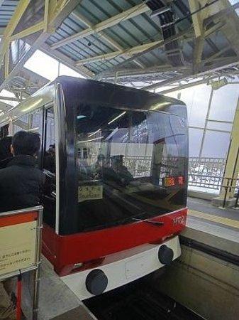 Hakone Tozan Railway: ケーブルカー。