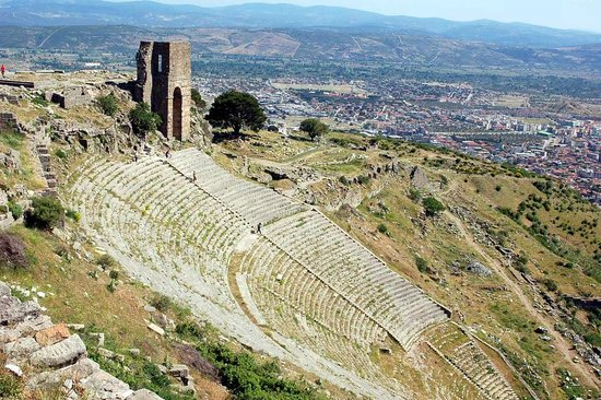 The steepest theatre in ancient world on Dikili to 'Pergamon' tour