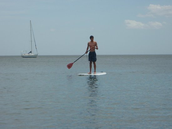 La Gaviota Tropical: Paddle boarding on site