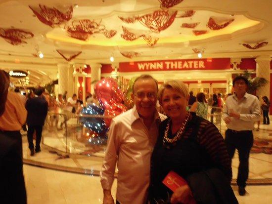 Wynn Las Vegas Casino : Entrada do Teatro