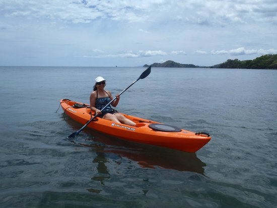 La Gaviota Tropical: Kayaking on site