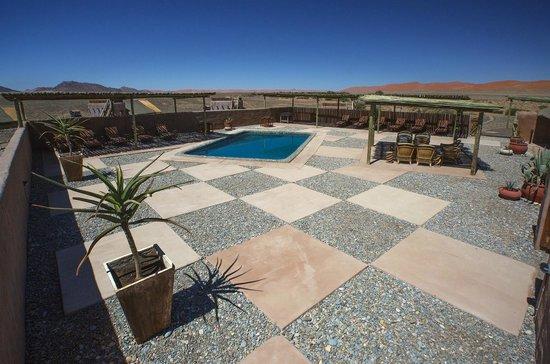 Wilderness Safaris Kulala Desert Lodge: Main Pool at Kulala Desert Lodge
