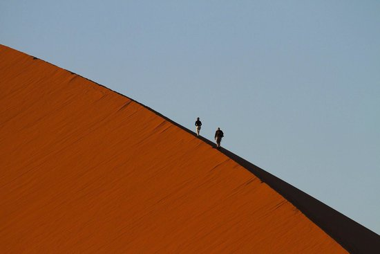Wilderness Safaris Kulala Desert Lodge: Activities include a walk on the Dunes
