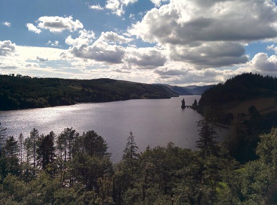 Lake Vyrnwy Hotel & Spa : View from the balcony. Wow.