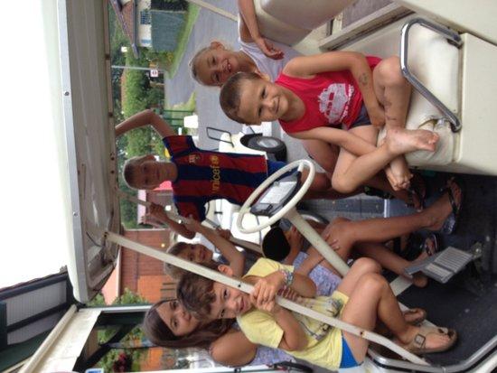 Camping Calède : Un petit tour de golfette au camping Calede