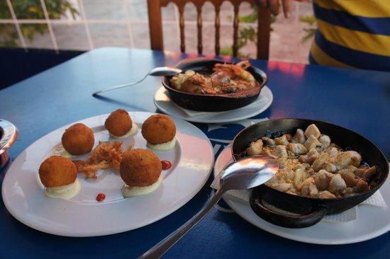 Marina Rubicón: Stunning food at La Taberna