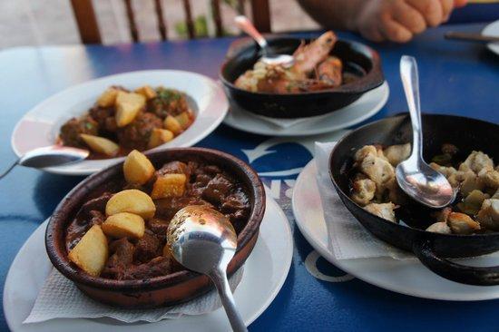 Marina Rubicón: Lush food at La Taberna