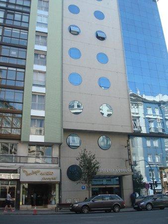 NH A Coruña Centro: fachada principal