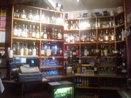 Seafield Lodge: Whisky Selection