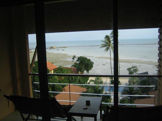 Palm Coco Mantra : Blick aus dem Zimmer