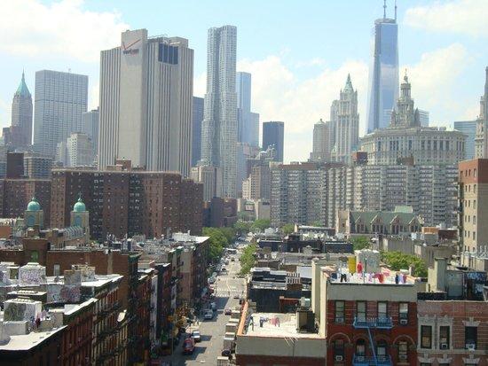 Manhattan Skyline: From Brooklyn Bridge