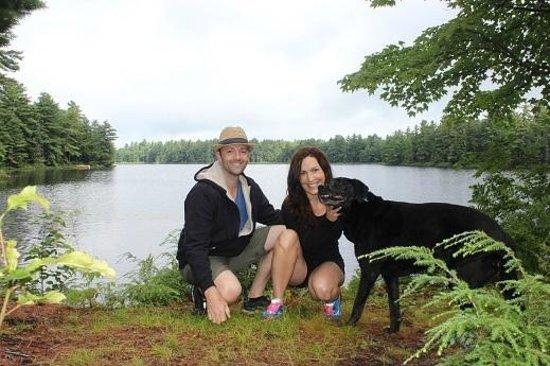 Rocky Crest Golf Resort : Walking trails in dog friendly secondary beach
