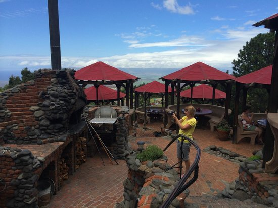 Kula Lodge: Terras buiten