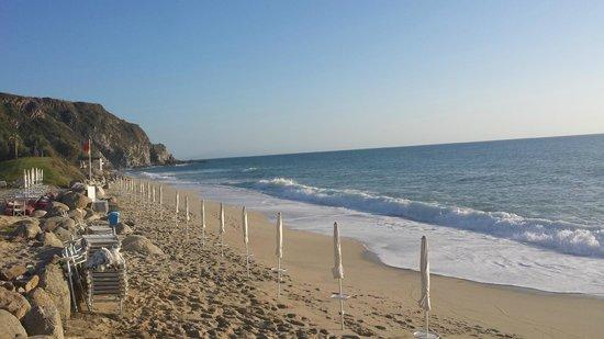 Capovaticano Resort Thalasso&Spa - MGallery by Sofitel : la spiaggia