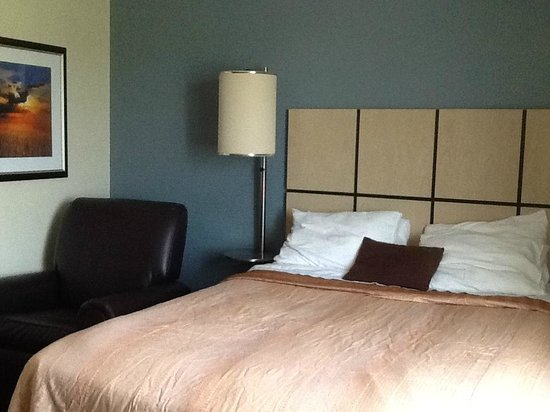 Candlewood Suites Chicago Waukegan: Nice recliner next to bed