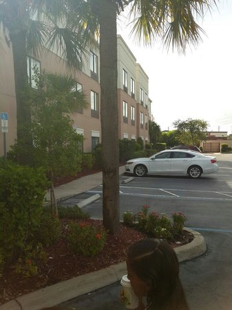 SpringHill Suites St. Petersburg Clearwater: Fachada