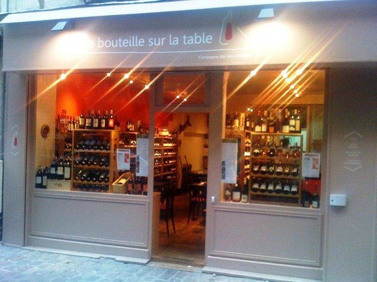 La bouteille sur la table paris 17e arr batignolles monceau restaurant avis num ro de - La bouteille sur la table ...