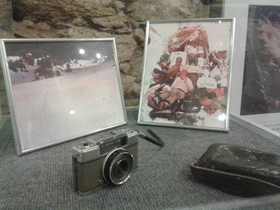 Museo Andes 1972: Máquina que registrou alguns dos 72 dias....