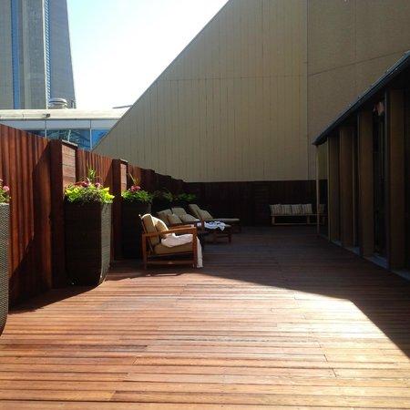 InterContinental Toronto Centre: Great sun deck!!