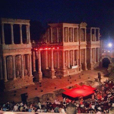 Teatro Romano de Mérida: Teatro romano
