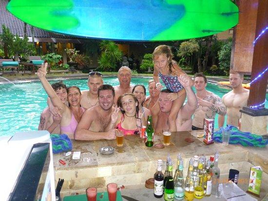 Balisandy Resort : people we meet around the pool