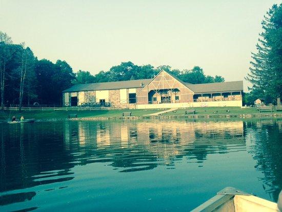 Malibu Dude Ranch: On the lake
