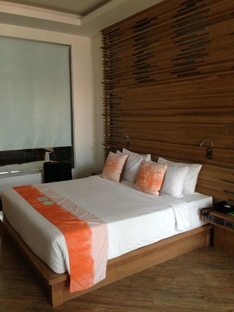 Sai Kaew Beach Resort : Big and very comfy bed!