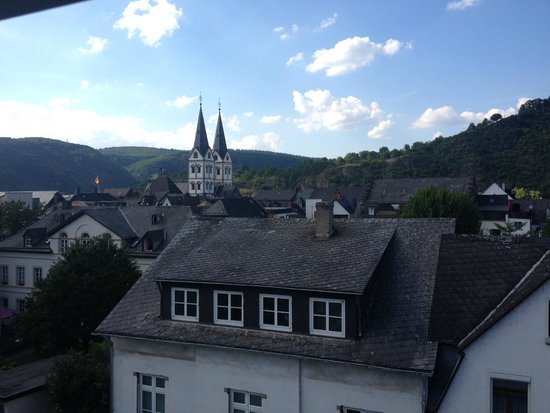 Boppard Hotel Ohm Patt: Another view from our rooftop window