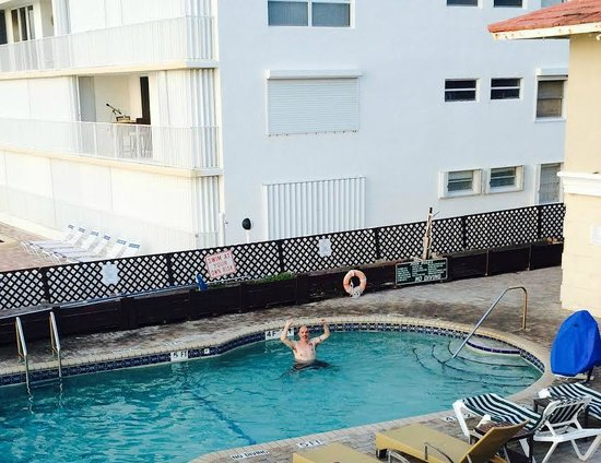 Palm Beach Oceanfront Inn : From the beautiful sundeck above the pool (obviously)